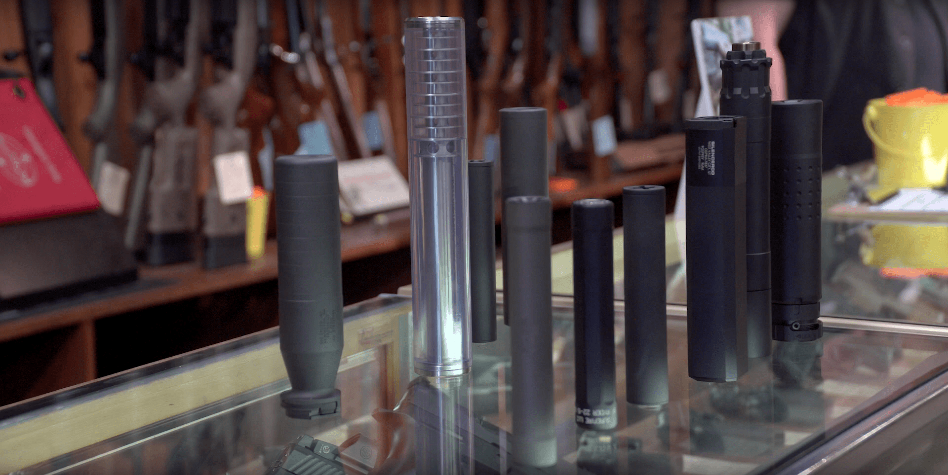 Suppressors at Rich's Gun Shop