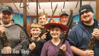 Wild West Shooting Gallery Fun