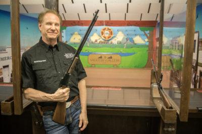 Lee, the Owner of Rich's Gun Shop